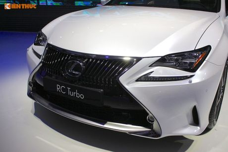 Lexus Viet Nam 'show hang' RC200t chinh hang gia gan 3 ty - Anh 3