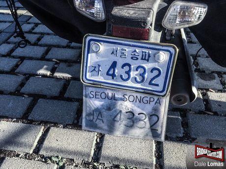 9X Han Quoc 'phuot' xuyen luc dia bang Honda Super Cub - Anh 2