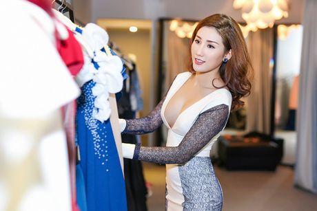 A hau Bao Nhu he lo trang phuc tham gia Miss Intercontinental - Anh 11