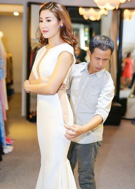 A hau Bao Nhu he lo trang phuc tham gia Miss Intercontinental - Anh 4