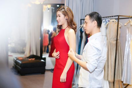 A hau Bao Nhu he lo trang phuc tham gia Miss Intercontinental - Anh 8