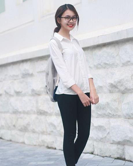 Ngan ngo ngam nu sinh Nghe An 'xinh nhat Vinh Bac bo' - Anh 3