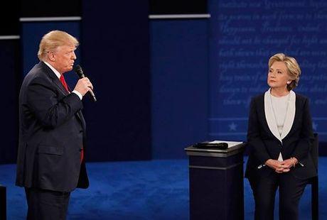 Tranh luan Hillary Clinton - Donald Trump lan 2: Donald Trump kha hon, nhung… - Anh 1