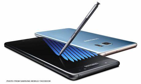 Samsung Viet Nam thu hoi va hoan tien voi san pham Galaxy Note7 - Anh 1
