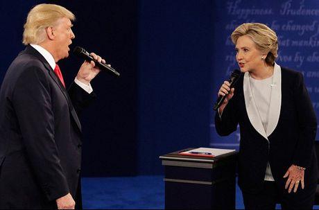 Trump, Clinton va cuoc tranh luan 'xau xi' lan 2 - Anh 1