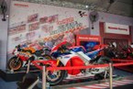 Honda WINNER 150 duoc mang vao duong dua, cung kha an tuong - Anh 14