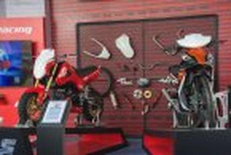 Honda WINNER 150 duoc mang vao duong dua, cung kha an tuong - Anh 15