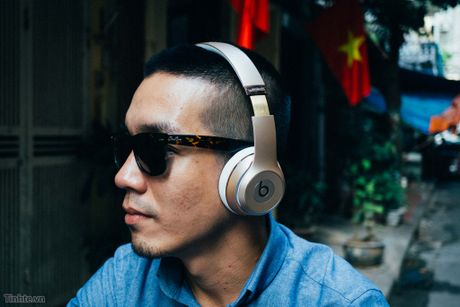 Tren tay Beats Solo3 Wireless: dep, chip Apple W1, pin cho 40 tieng nghe nhac - Anh 1