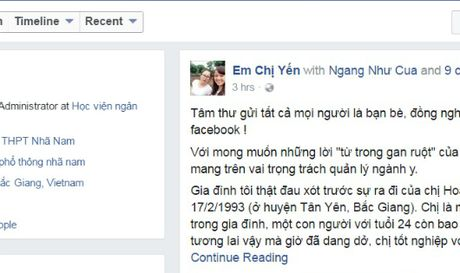 Co gai tre thiet mang do bac si BVDK Tan Yen (Bac Giang) tac trach? - Anh 1