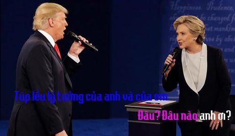 Tranh luan Trump-Clinton thanh man hat Karaoke suot muot - Anh 7