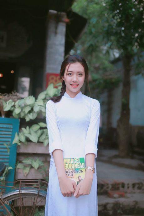 Ve dep cua nu sinh THPT Huynh Thuc Khang trong cuoc thi Miss VOS 2016 - Anh 10