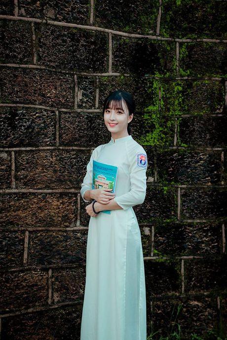 Ve dep cua nu sinh THPT Huynh Thuc Khang trong cuoc thi Miss VOS 2016 - Anh 17