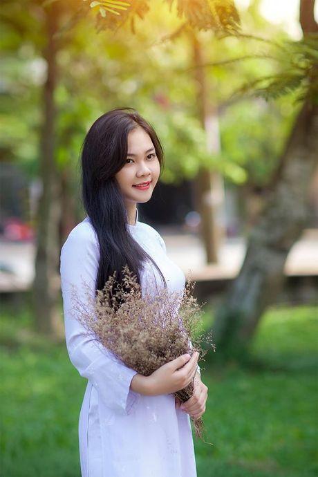 Ve dep cua nu sinh THPT Huynh Thuc Khang trong cuoc thi Miss VOS 2016 - Anh 1