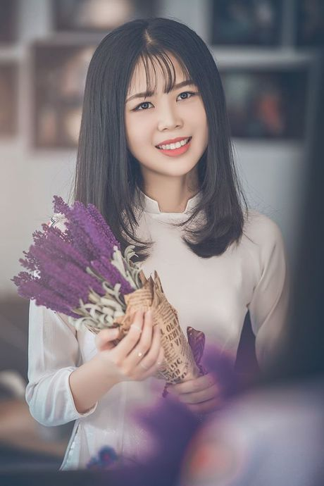 Ve dep cua nu sinh THPT Huynh Thuc Khang trong cuoc thi Miss VOS 2016 - Anh 25