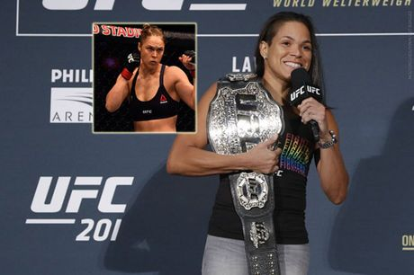 Tin HOT the thao 11/10: Nu hoang UFC moi muon dau Rousey - Anh 1