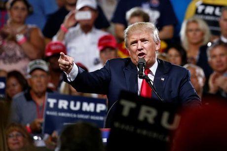 CK Hoa Ky giam 8% neu Donald Trump dac cu - Anh 1
