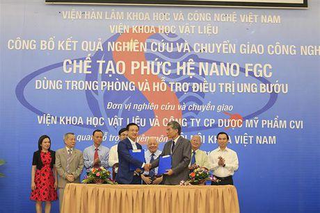 Lan dau tien Viet Nam che tao thanh cong duoc lieu ho tro dieu tri ung thu - Anh 1