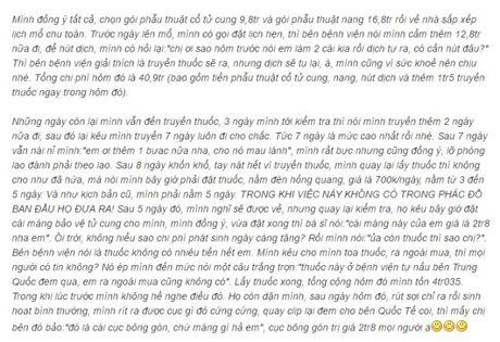 Bac si Trung Quoc chui long hanh tai Viet Nam: Khong benh chuan doan sap ung thu - Anh 1