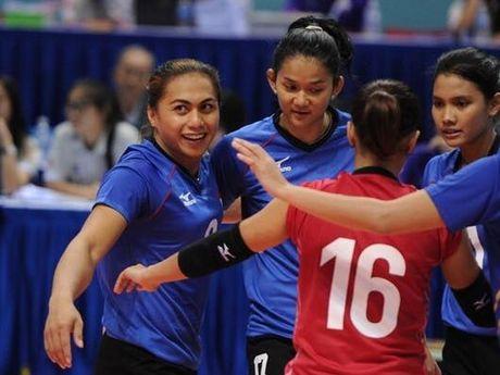 Giai bong chuyen nu Quoc te VTV Cup 2016: Tuyen Viet Nam vuot qua 'cua ai' Indonesia - Anh 2