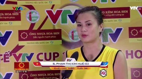 Giai bong chuyen nu Quoc te VTV Cup 2016: Tuyen Viet Nam vuot qua 'cua ai' Indonesia - Anh 4