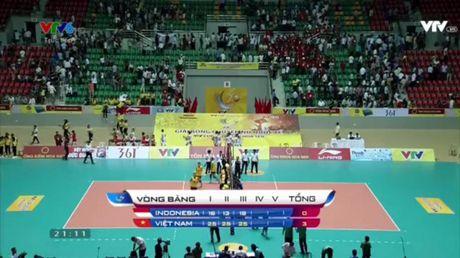 Giai bong chuyen nu Quoc te VTV Cup 2016: Tuyen Viet Nam vuot qua 'cua ai' Indonesia - Anh 5