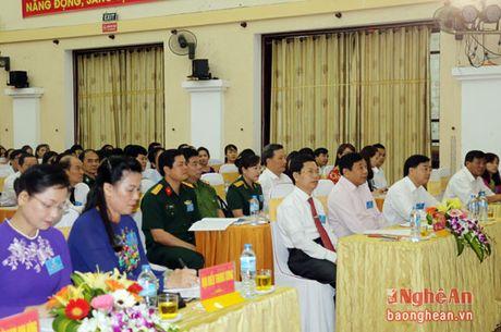 Khai mac Dai hoi Dai bieu Phu nu Tinh Nghe An nhiem ky 2016 - 2021 - Anh 1