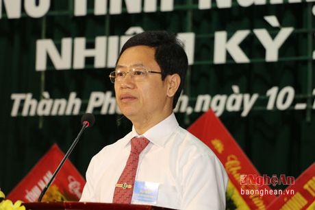 Khai mac Dai hoi Dai bieu Phu nu Tinh Nghe An nhiem ky 2016 - 2021 - Anh 3