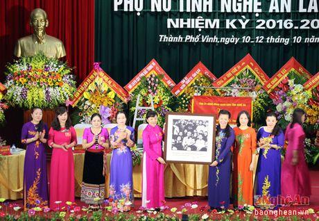 Khai mac Dai hoi Dai bieu Phu nu Tinh Nghe An nhiem ky 2016 - 2021 - Anh 5