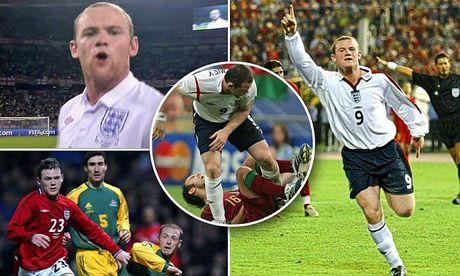 Nhung cot moc dang nho cua Rooney trong mau ao 'Tam Su' - Anh 1