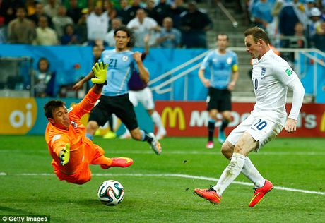 Nhung cot moc dang nho cua Rooney trong mau ao 'Tam Su' - Anh 7