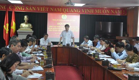 Tong LDLDVN lay y kien ve ke hoach Dai hoi cong doan cac cap, tien toi Dai hoi XII Cong doan Viet Nam - Anh 1