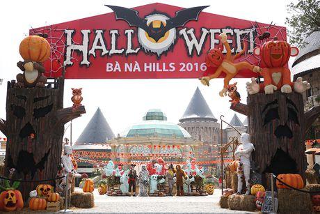 Doc dao le hoi Halloween Ba Na Hills 2016 - Anh 1