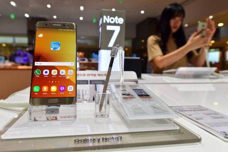 Galaxy Note 7 doi moi van chay no, vi sao? - Anh 1