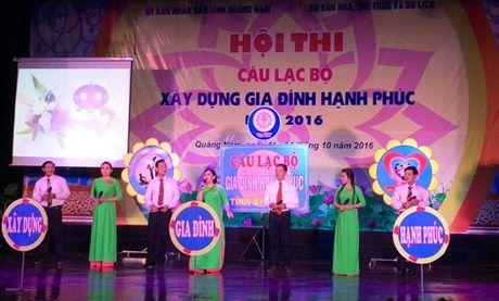 Cau lac bo xay dung gia dinh hanh phuc nam 2016 - Anh 1