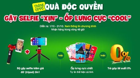 Bi quyet so huu anh selfie doc dao cung OPPO - Anh 3