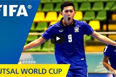 Sieu pham cua Minh Tri xep thu 2 FIFA Futsal World Cup 2016 - Anh 1