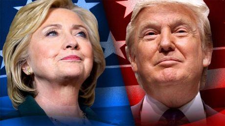 Hau tranh luan lan 2, ba Clinton but toc bo xa Donald Trump - Anh 1