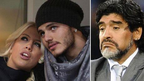 Bi Maradona khoi chuyen doi tu, Icardi gian du dap tra - Anh 1