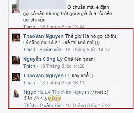 Moi quan he ki la cua ban gai moi Cong Ly va MC Thao Van - Anh 2