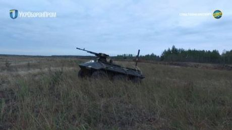 Ukraine chao ban robot chien dau: No luc thoi kho - Anh 1