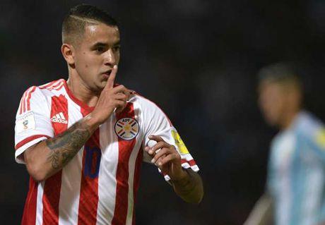 Sergio Aguero da hong phat den, Argentina thua soc Paraguay tren san nha - Anh 1