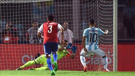 Sergio Aguero da hong phat den, Argentina thua soc Paraguay tren san nha - Anh 3