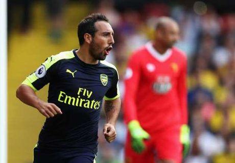 Juventus quyet chieu mo tien ve tru cot cua Arsenal - Anh 1