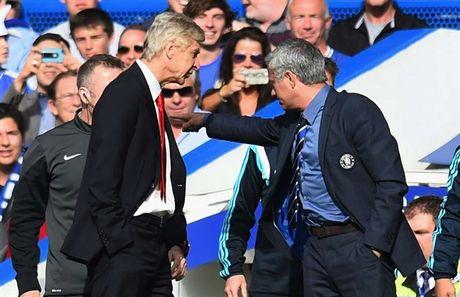 Nhu nuoc voi lua, vay ma Mourinho va Wenger van co diem chung - Anh 1