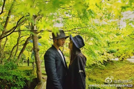 Huynh Hieu Minh dua vo bau Angelababy di nghi duong - Anh 3