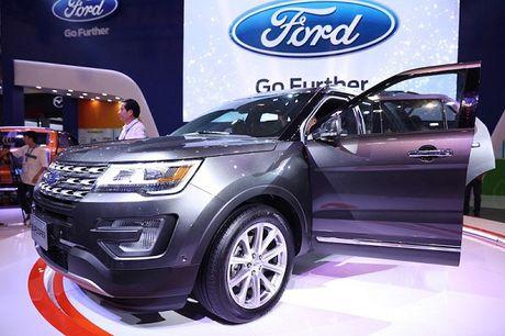 Ford Explorer 2017 ve Viet Nam, gia gan 2,2 ty - Anh 1