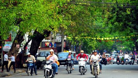 Ha Noi nong 33 do C, muc nhiet do cao nhat mien Bac - Anh 1
