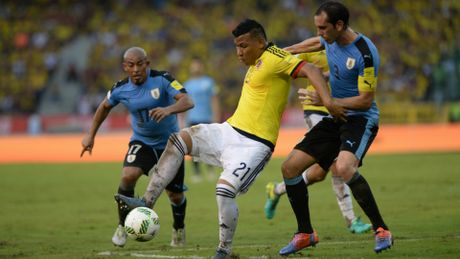 Colombia 2-2 Uruguay: Uruguay mat ngoi dau - Anh 1
