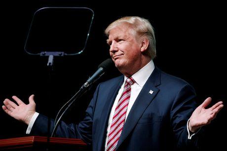 Donald Trump nho nham ca ngay bau cu tong thong My - Anh 1
