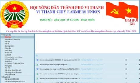 Chu tich Hoi Nong dan TP Vi Thanh bong nhien 'bien mat'? - Anh 1